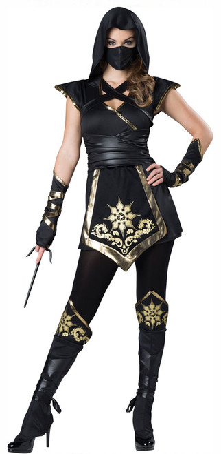 Deguisement de ninja mystique femme