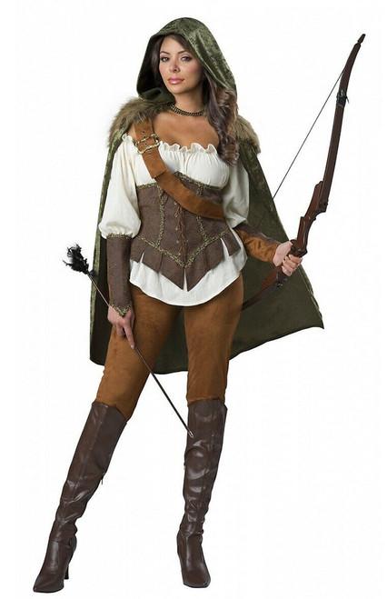 Deguisement de chasseur Robin Hood pour femme