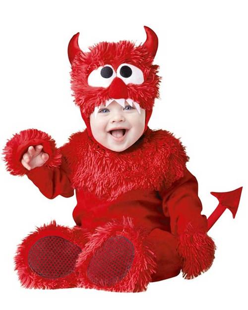 Deguisement bebe petit diable