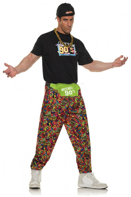Pantalon des annees 90 pour hommes