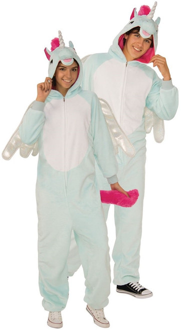 Costume de combinaison a capuche Pegacorn