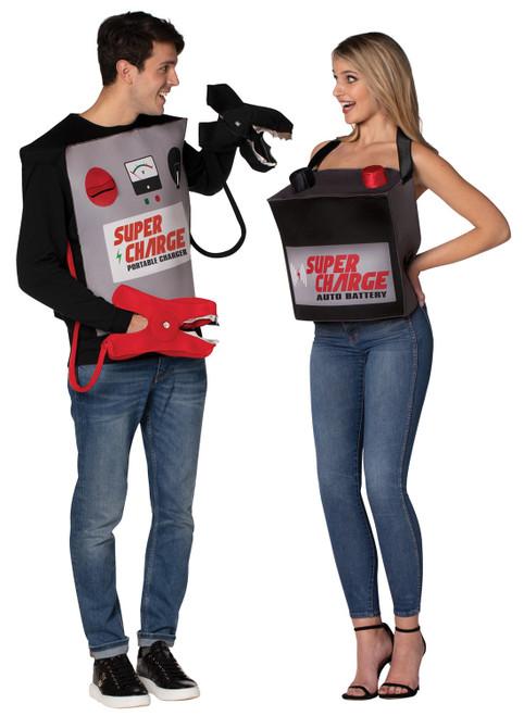 Kit de batterie et cables de demarrage pour couple