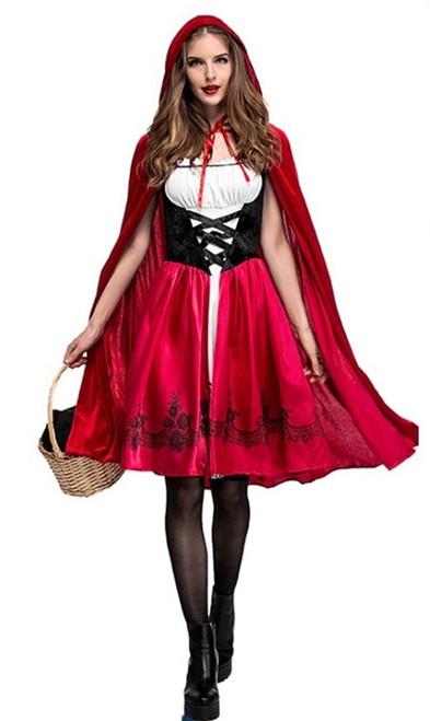 Deguisement chaperon rouge femme