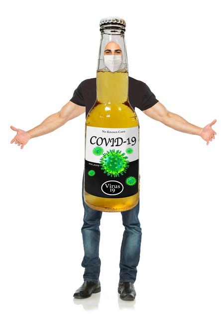 Costume de biere COVID-19 pour homme