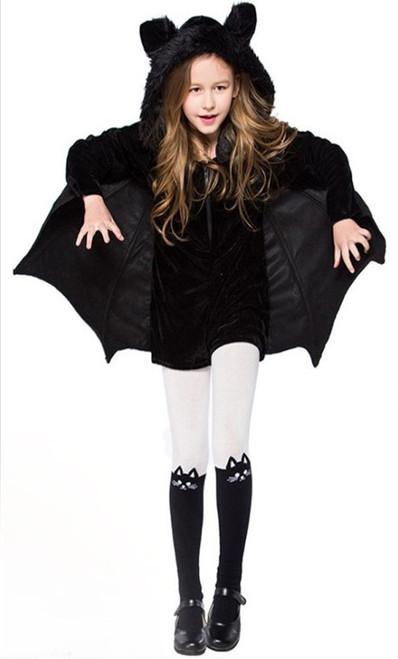 Costume de fille chauve-souris