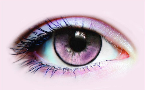 Lentilles de contact violettes Succcubus