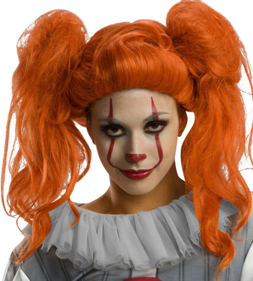 Perruque Pennywise pour femme