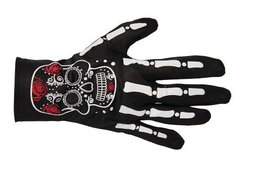 Gants Squelette Jour des Morts Adulte