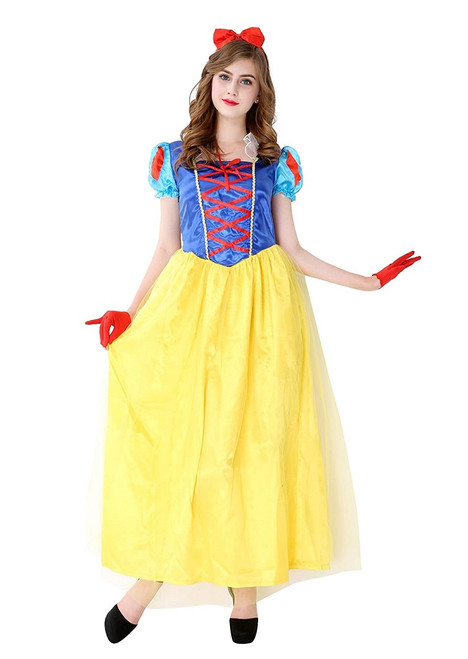 Costume Blanche-Neige pour Femme