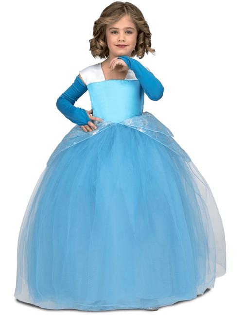 Costume de la Princesse à Tutu Bleue pour Fille