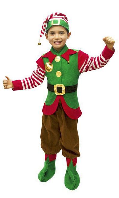 Costume p'tit assistant du Père Noël