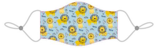 Masque Lavable pour Enfants  - Motif Lion