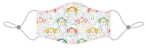Masque Lavable pour Enfants  - Motif Singe