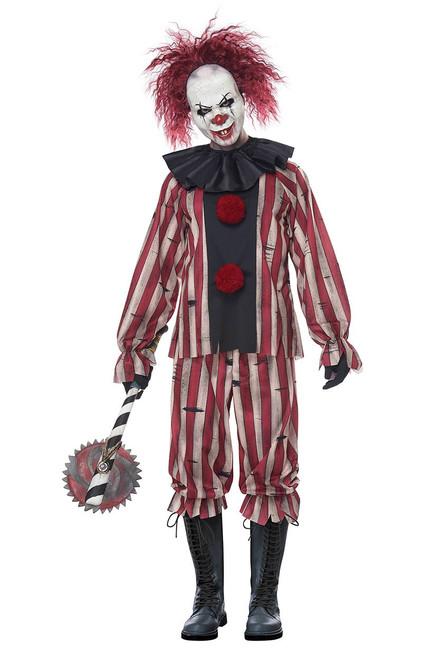 Costume de Clown Cauchemardesque Taille Plus