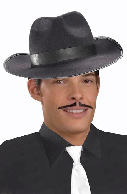 Moustache de Gangster Noire