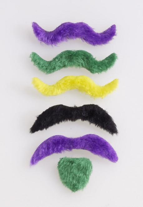 Assortiment de Moustaches pour le Mardi Gras