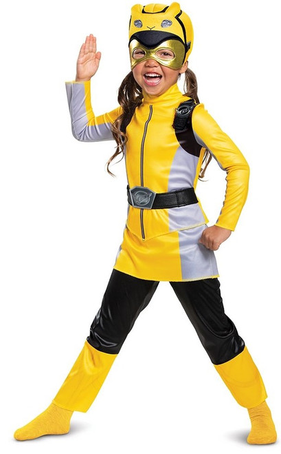 Costume Jaune du Ranger Morpher pour Fille