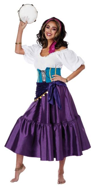 Costume Gitane Esmeralda pour Femme