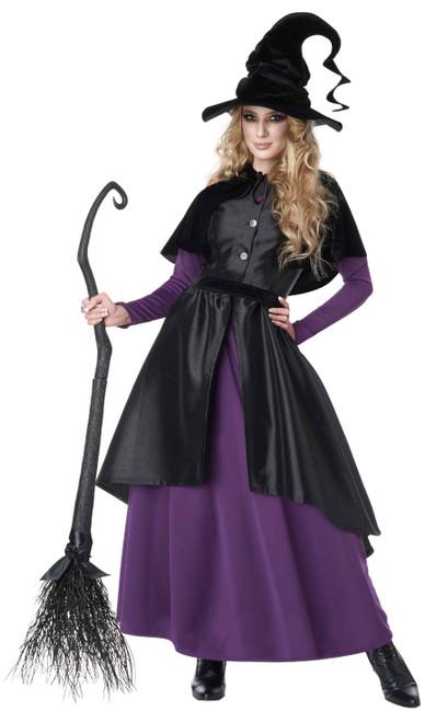 Costume de Sorcière Stylée pour Femme