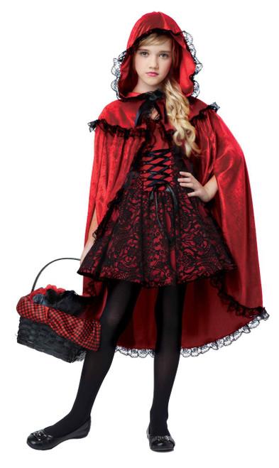 Costume Deluxe du Chaperon Rouge pour Fille