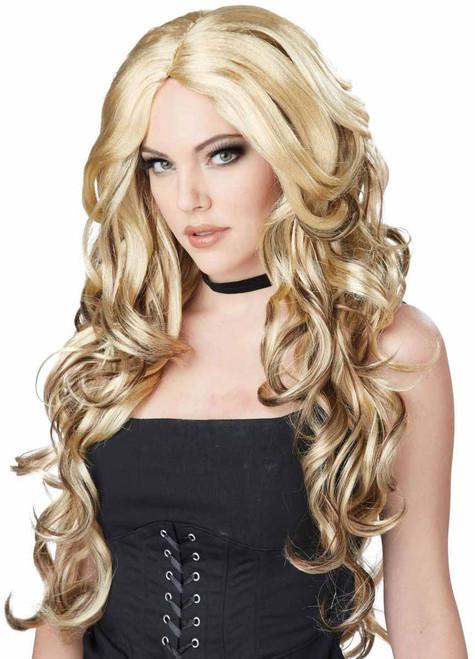 Perruque Glamour Blonde de Célébrité pour Femme