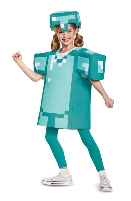 Costume Minecraft Armor Enfants