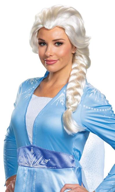 Perruque Elsa Reine des Neiges Femmes