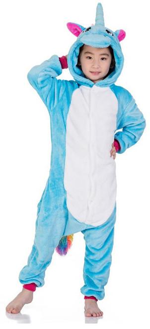 Costume Licorne Bleue pour Enfants