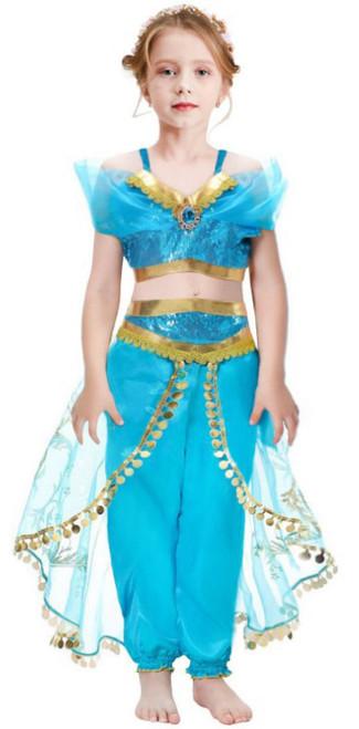 Costume Princesse d'Aladdin Jasmin Filles
