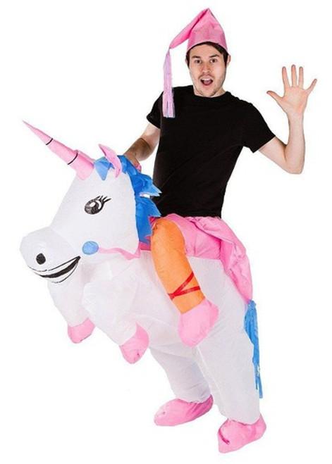 Costume de Licorne Gonflable pour Adultes