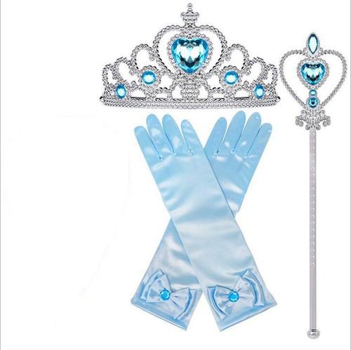 Kit Bleu pour Princesses Filles