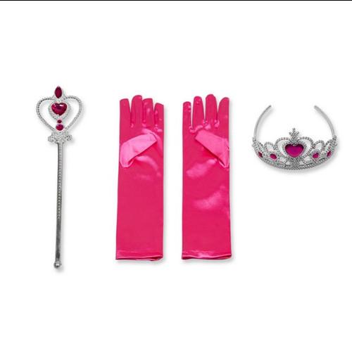 Kit Princesse Filles Rose Fuschia