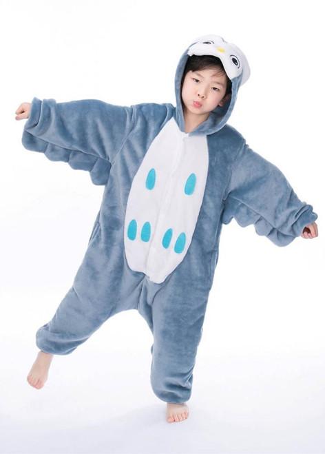 Costume Combinaison Hibou Nocturne pour Enfants