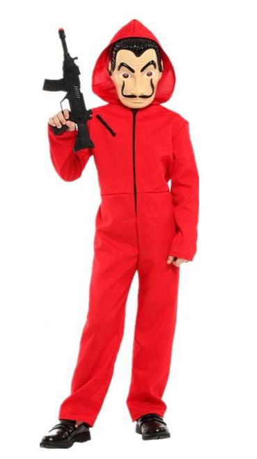 Costume Cambriolage Casa de Papel pour Enfants
