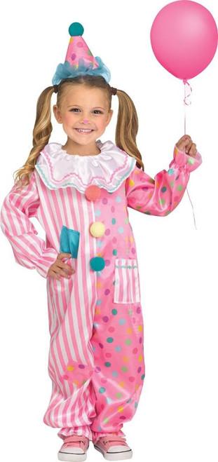 Costume de Clown Barbe à Papa Filles