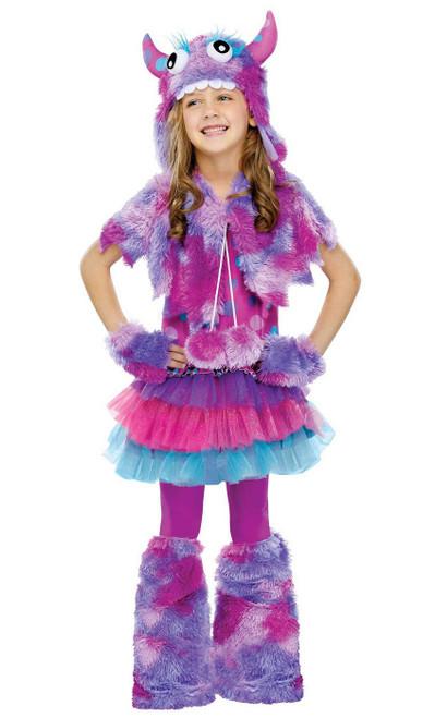 Costume de Monstre à Pois pour Filles