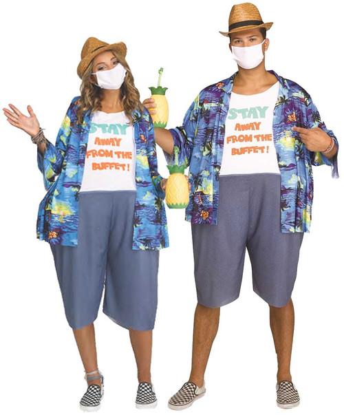 Costume de Touristes Contaminés Adultes
