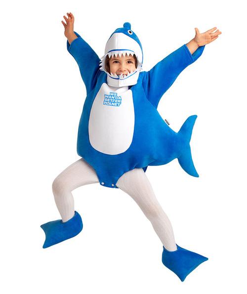 Costume de Requin Bleu Tout-Petit