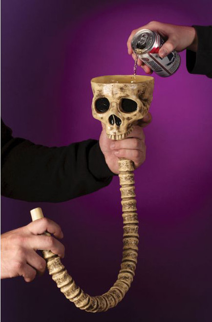 Entonnoir à Boissons Squelette