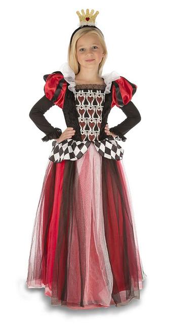 Costume Reine de Coeur Filles