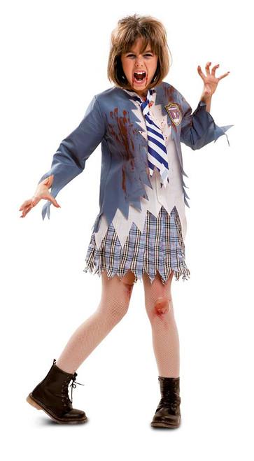 Costume d'Étudiante Zombie Fille