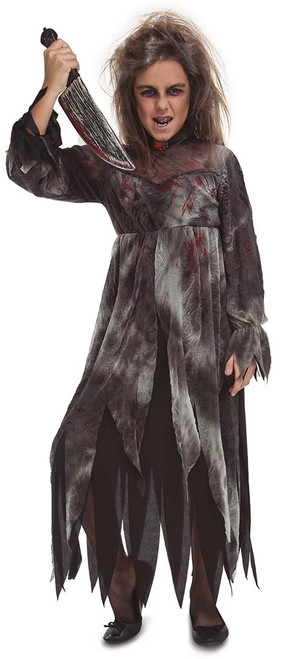 Costume Psycho Folle Filles