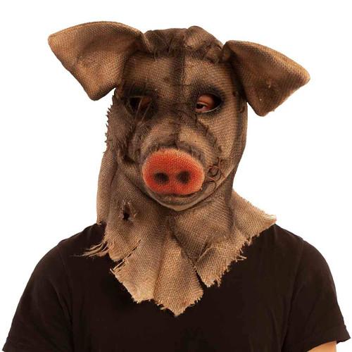 Masque Cochon Sinistre avec mâchoire mobile