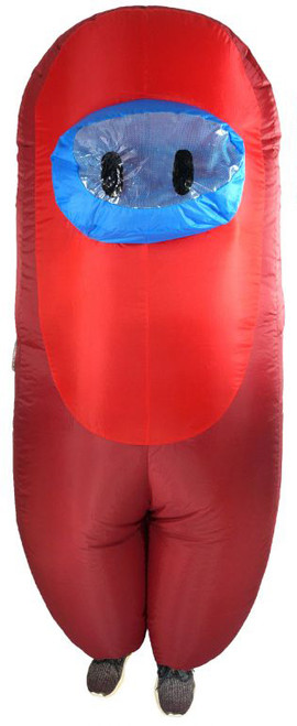Costume Gonflable Among Us Rouge Enfants