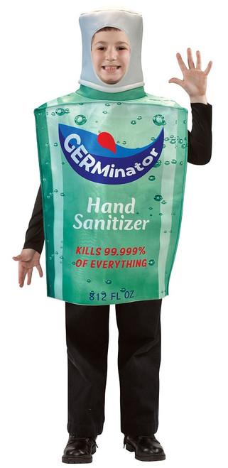 Costume Bouteille de Désinfectant Enfants