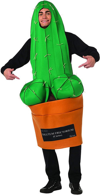 Costume Homme Heureux Cactus