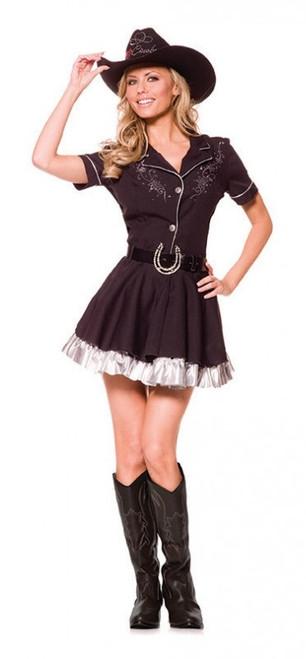 Costume Cowgirl Strassé pour Femmes