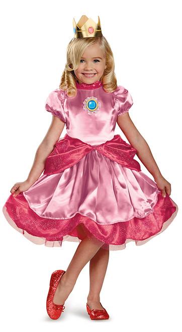 Costume Princesse Peach pour Fillettes