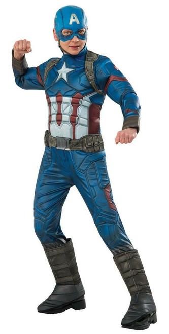Costume Deluxe de Captain America pour Enfants