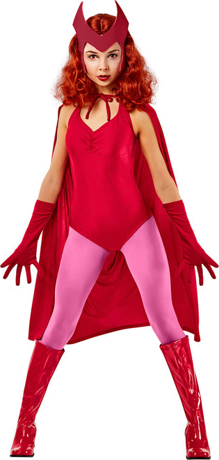 Costume de Scarlet Witch WandaVision pour Femme